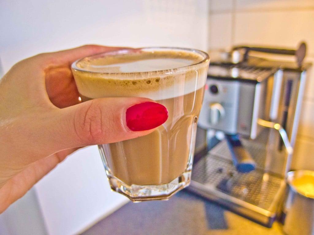 Ny kaffemaskine