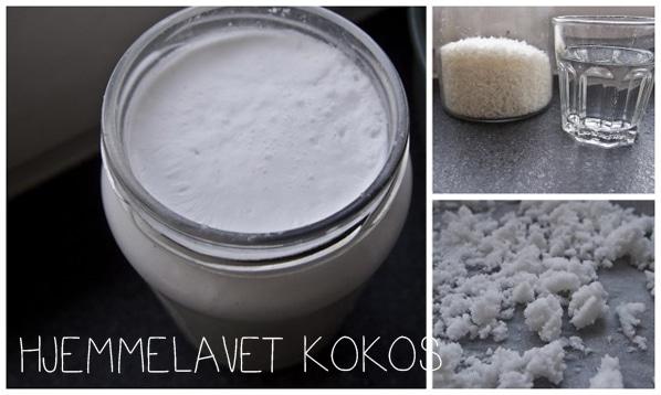 Lav selv kokosmælk og kokosmel…