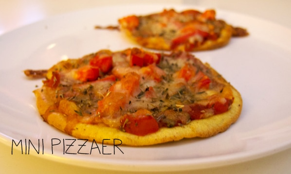 Mini pizzaer – uden mel …