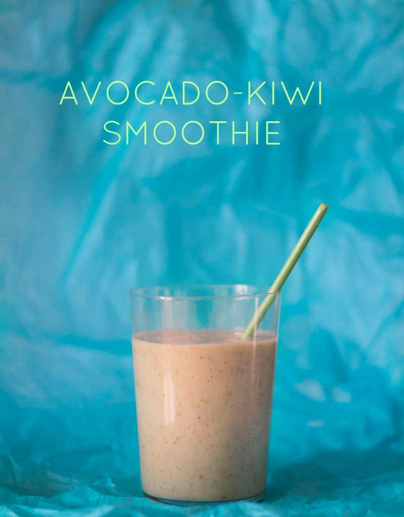 Avocado-kiwi-smoothie…
