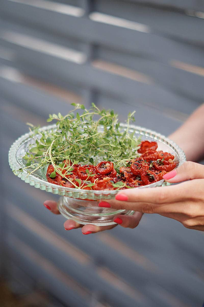 Ovnbagte tomater…