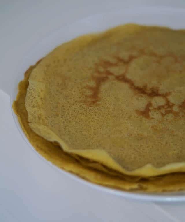 Majspandekager – glutenfri pandekager lavet af majsmel