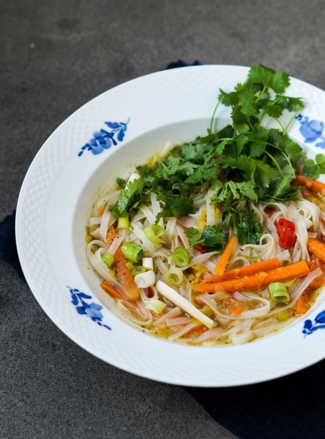 Køkkenfest anmeldelse – vegetarisk pho
