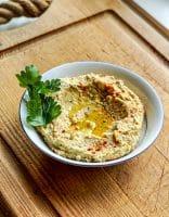 Skøn hummus – kikærtedip med tahin og hvidløg