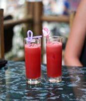 Vandmelons shake