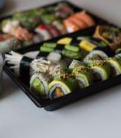 Vegetarisk sushi i Aarhus