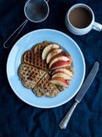 Morgenvafler uden banan