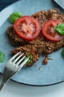 Soltørret tomat-spread ( vegansk pålæg)