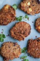 Spicy bønnedeller med feta – vegetardeller