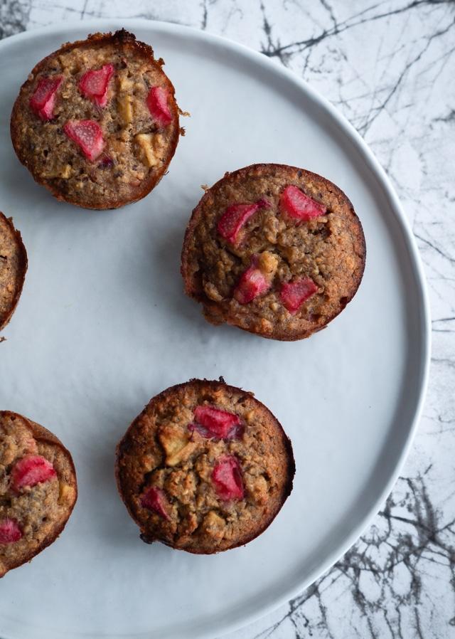 sundere rabarbermuffins