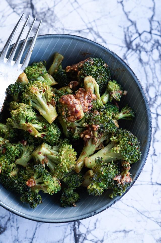 stegte broccoli