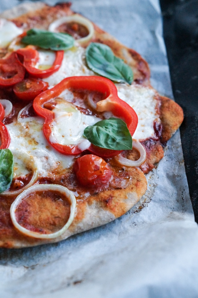 blomkålspizza uden ost