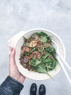 Skønne oktober og min salat på Aarhus Central Food Market