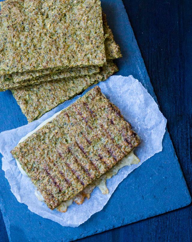 Broccoli fladbrød – gode til toast
