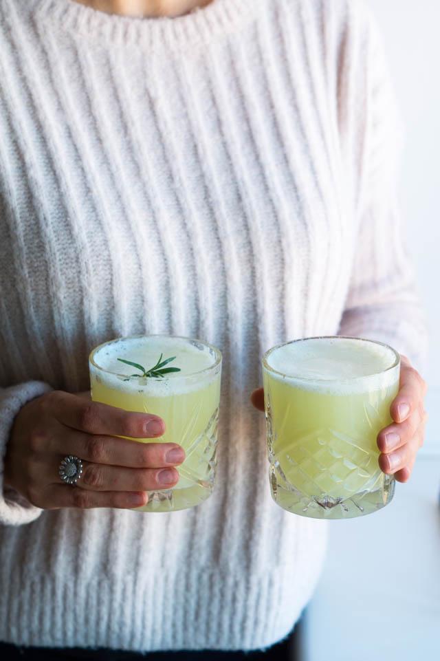 Ingefær-lime drik