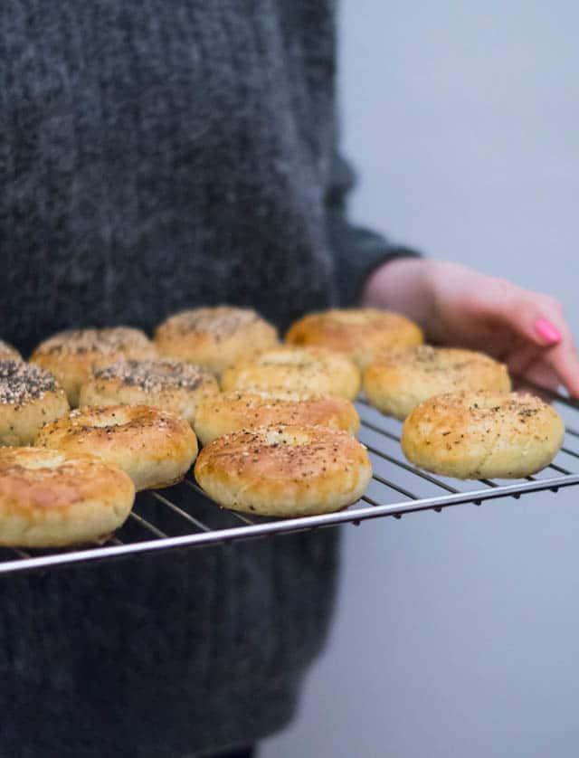 Glutenfri bagels (og mælkefri!)