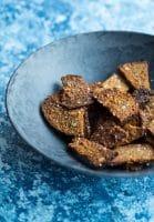 Rugbrødschips – af en rest rugbrød
