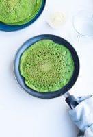 Spinatpandekager – grønne pandekager