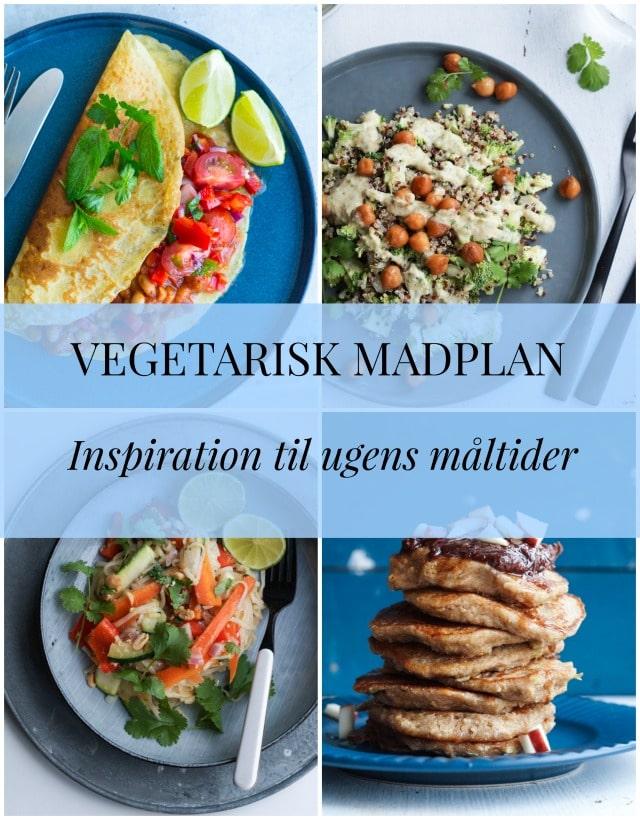 Vegetarisk madplan – uge 22