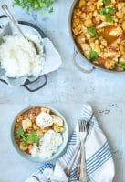 Aloo gobi – vegetarisk indisk ret med blomkål og kartofler