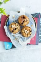 Sundere blåbærmuffins – til madpakken