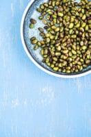 Krydrede edamamebønner – en lille snack