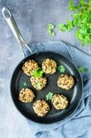 Linsedeller – vegetardeller med grønne linser og havregryn