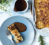 Vegetarisk / vegansk brun sovs – den perfekte julesauce