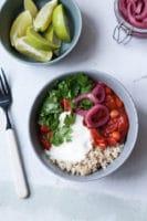 Årets første vegetariske madplan, uge 2