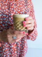 Iskaffe med havremælk