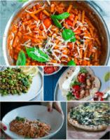 Vegetarisk madplan uge 28