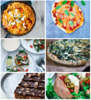 Vegetarisk madplan uge 29 – pastaret, falafel-vafler, pizza og fyldte søde kartofler