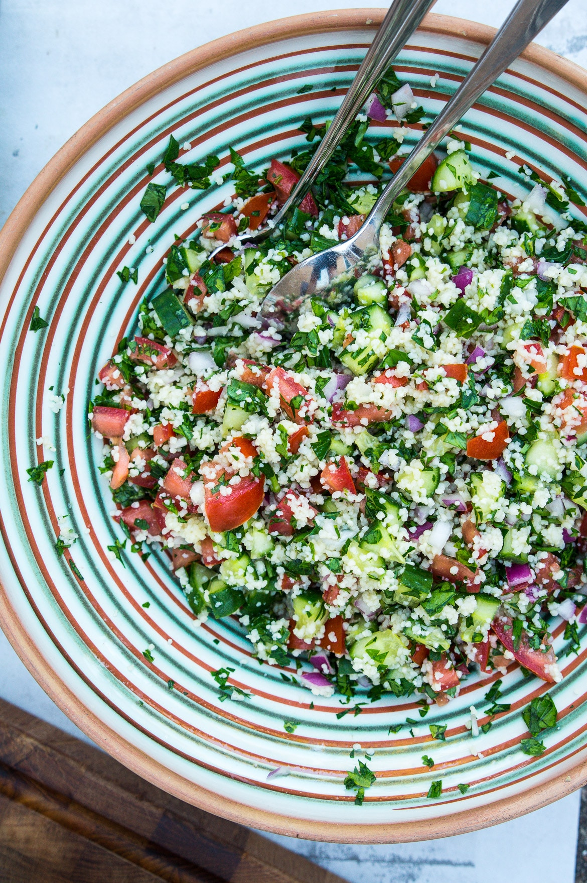 Tabouleh - lækker salat med couscous