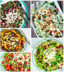 5 skønne vegetariske salater
