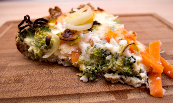 Grønsagstærte med kernebund