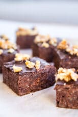 Bønnebrownie – sund brownie med bønner
