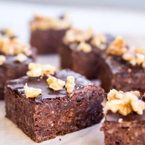 Bønnebrownie - sund brownie med bønner