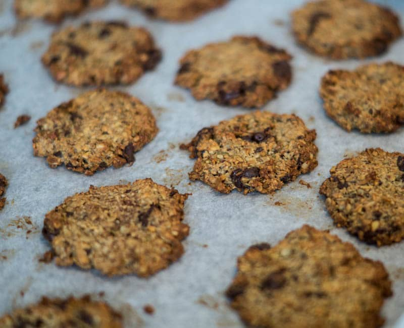 Nemme sunde havregryns cookies