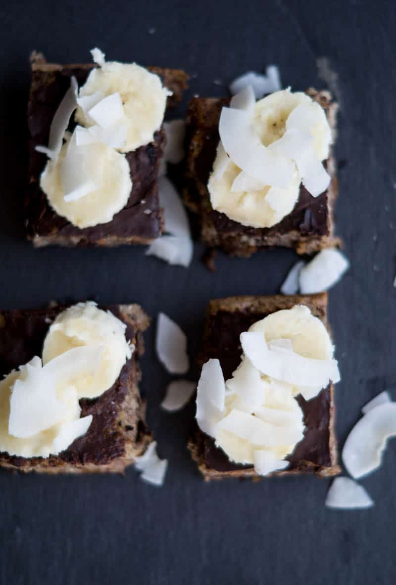 Sund banankage uden sukker og mel