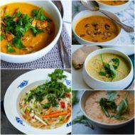 5 vegetariske efterårssupper