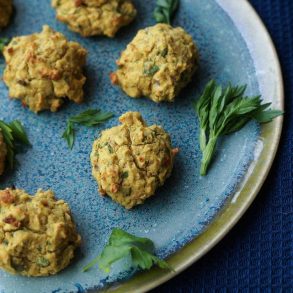 Ovnbagte falafler – fantastiske og nemme at lave