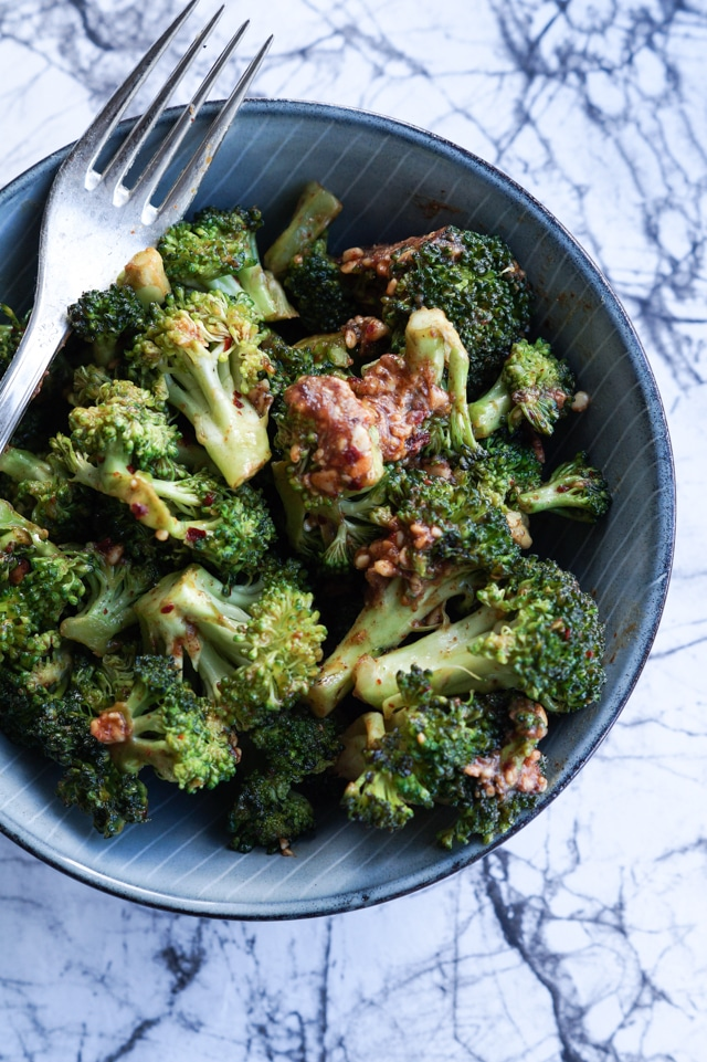 stegte broccoli