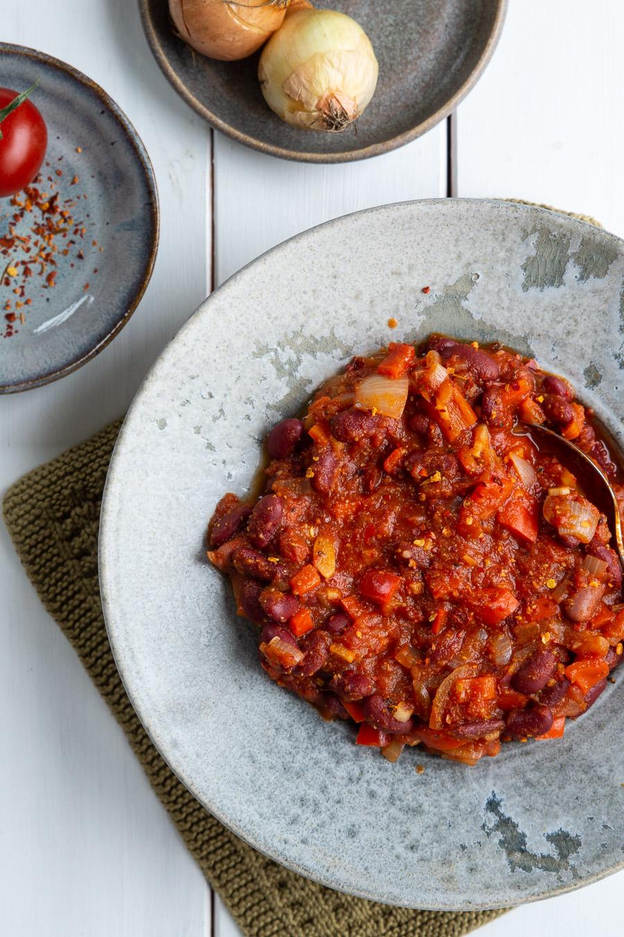 Vegetariske madpandekager med bønnefyld