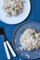 Bygotto med jordskokker, rosmarin og parmesan