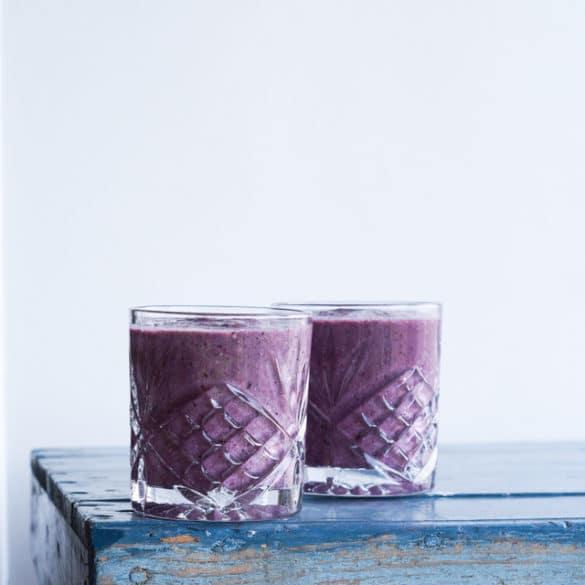 Vinter smoothie med rigeligt ingefær