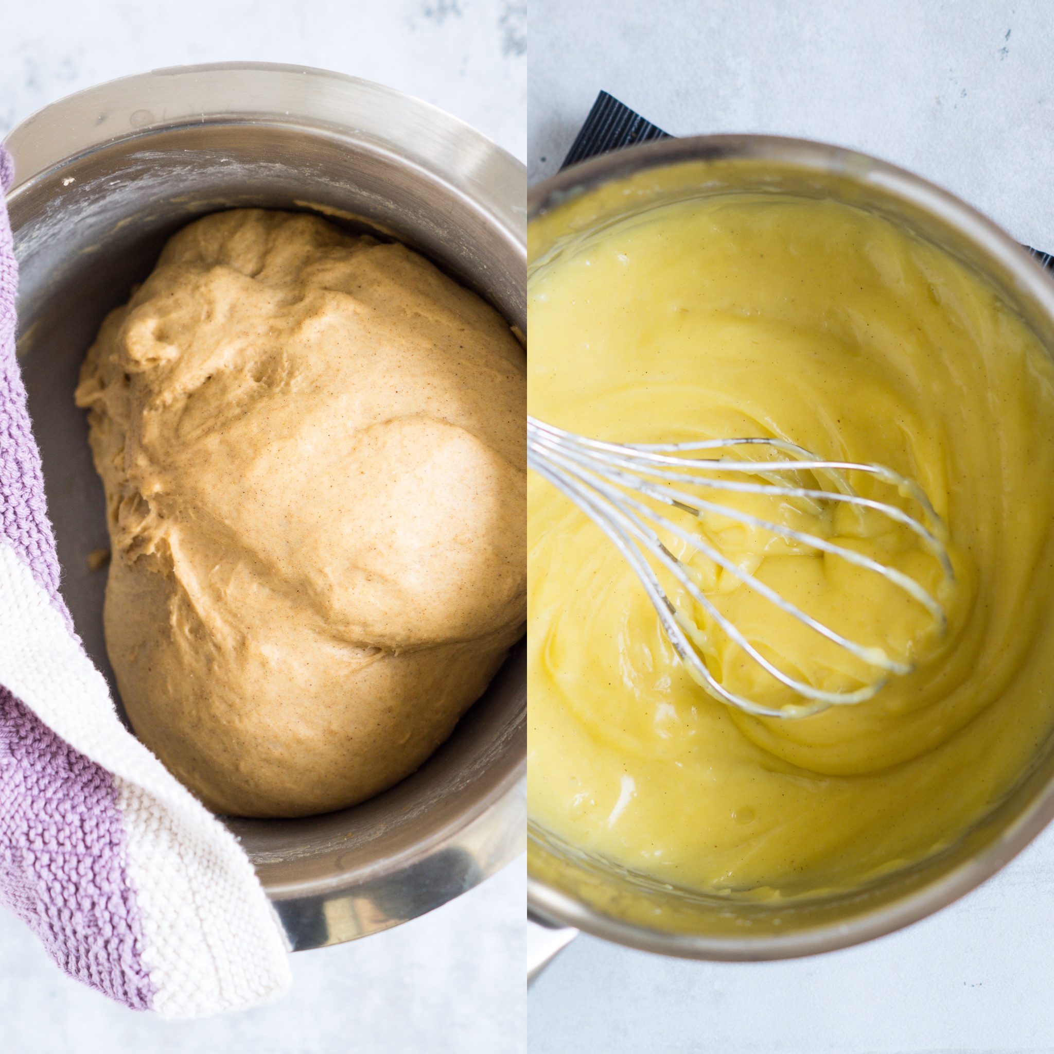 Sundere fastelavnsboller med remonce, creme og chokolade