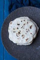 Hjemmelavede hvede-tortillas