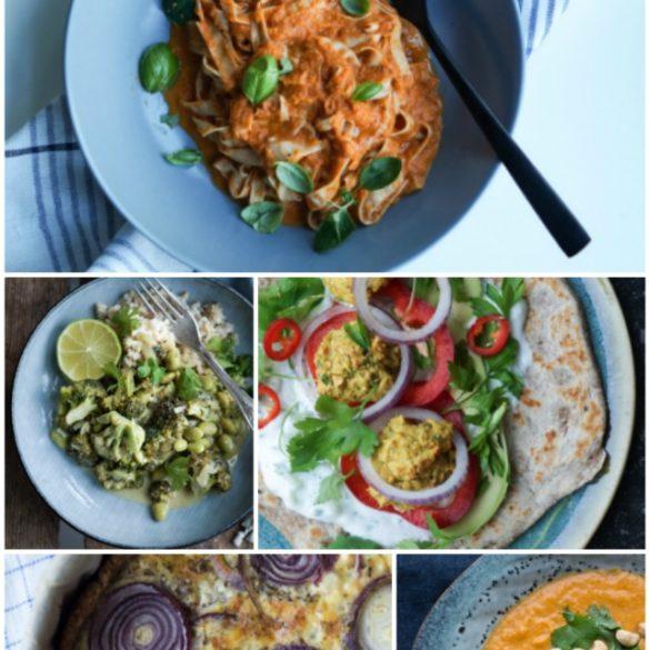 Vegetarisk madplan - spis mere grønt