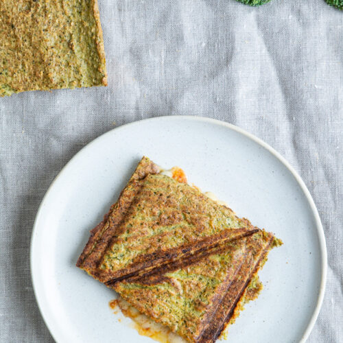 Broccoli fladbrød - gode til toast
