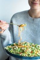 Asiatisk quinoa salat